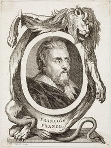Portret van Frans Francken II (1581-1642)