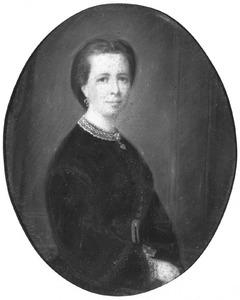 Portret van Sara Geertruida Agatha Brantsen (1836-1923)