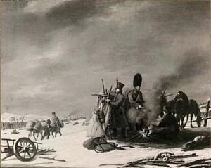 Nachtkwartier te Molodetschno, 3-4 december 1812: episode uit de terugtocht van keizer Napoleon uit Rusland