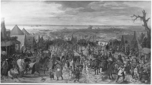 Het beleg van Oostende door Spinola