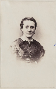 Portret van Elisabeth Gratama (1836-1914)