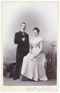 Portret van Eltjo Aldegondus van Beresteyn (1876-1948) en Julia Carolina Frowein (1877-1961)