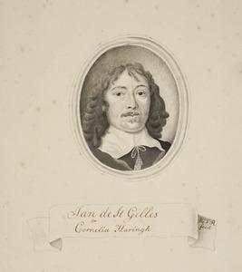 Portret van Jan de St. Gilles (1609-1664)