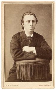 Portret van Sieds Gerrits Sijtsma (1856-1938)
