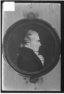 Portret van Dirk Mulier (1754-1791)