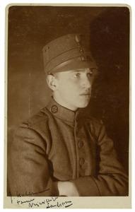 Portret van J. Holleman