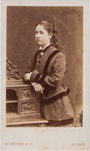 Portret van Augustine Wilhelmine Louise Adrienne gravin van Bylandt (1861-1916)
