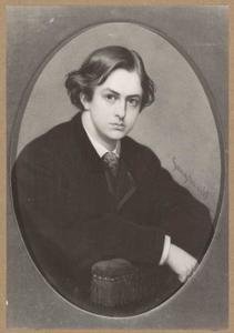 Portret van Jan Daniël Cornelis Carel Willem baron de Constant Rebecque (1841-1893)