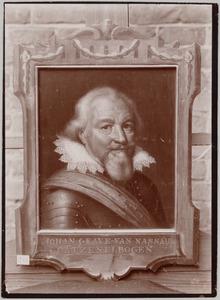 Portret van Jan VII 'de Middelste' van Nassau-Siegen (1561-1623)