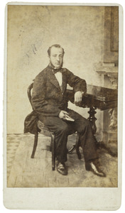 Portret van Marius Kuipers (1832-1895)