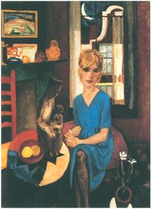 Portret van Anna Leyden (1906-1977)