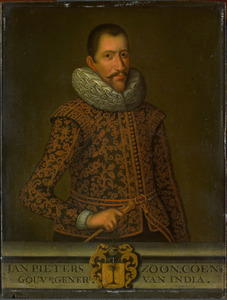 Portret van Jan Pietersz. Coen (1587-1629)