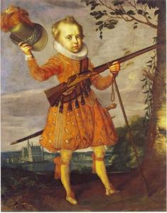 Portret van prins Frederik III van Denemarken (1609-1670)