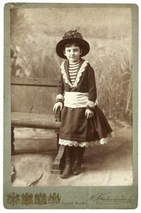 Portret van Catharine Francoise Bijleveld (1879-1929)
