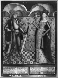 Haarlemse gravenportretten: Willem VI en Jacoba van Beieren