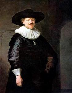 Portret van een man, mogelijk Jan Harmensz. Krul (ca. 1601-1646)