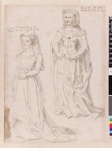 Studie van Walpurga van Meurs en Marguerite de Craon