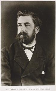 Portret van de kunstenaar Anton Mauve