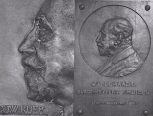 Portret van Jacob Leendert de Raadt (1872-1948)