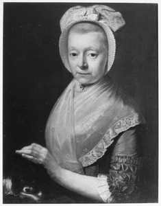 Portret van Margaretha Barbara Emmen (1737-1802)
