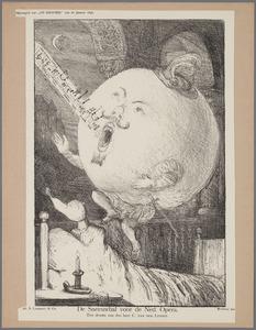 De Sneeuwbal voor de Ned. Opera. Een droom van den heer C. van der Linden.