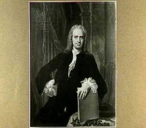 Portret van Hubertus Gregorius van Vrijthoff (1704-1754) juridisch hoogleeraar in Amsterdam