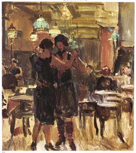 In het café van Scala