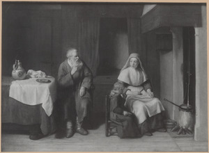 De weduwe van Sarefat bakt pannenkoeken voor Elia (1 Koningen 17: 13-16)