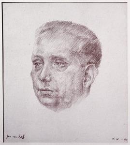 Portret van Jan van Ees (1896-1966)