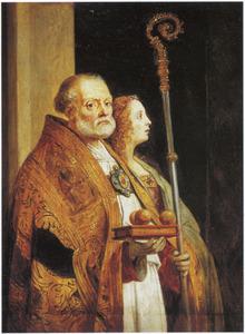 Heilige Nicolaas van Bari en Maria Magdalena