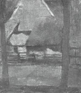 Rear gable of an Achterhoek farm building