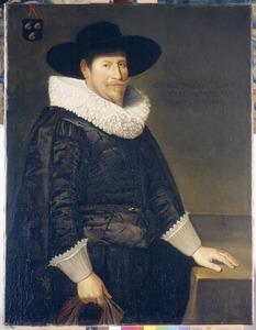 Portret van Adriaan van der Goes (1581-1663)