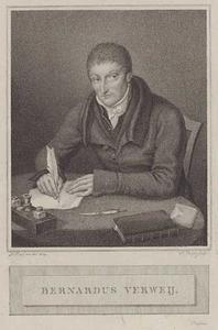 Portret van Bernardus Verwey (1772-1835)