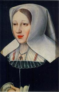 Portret van Margaretha van Oostenrijk (1480-1530)