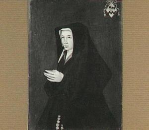Portret van Beatrix van Slingelandt (1485-1555), echtgenote van Cornelis de Witt (1485-1537)