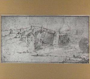 Ponte Acquoria bij Tivoli