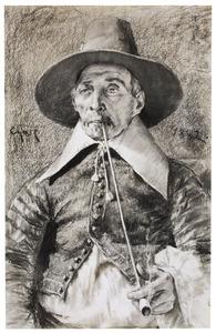 Portret van een burgemeester