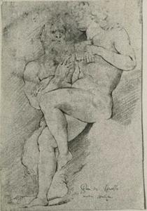 Pan onderricht Daphnis