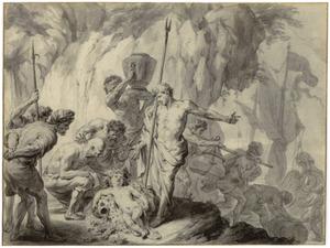 Het vinden van het kind Bacchus (Metamorfosen)