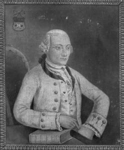 Portret van Stephanus Rink (1740-1798)