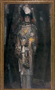 Portret van Jeanne van der Vuurst de Vries-Godin (1876-1965)