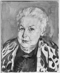 Portret van mevr. Th. J. Hintzen-s'Jacob, voorstudie (1861-1941)