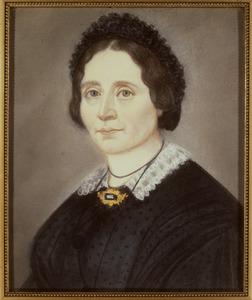 Portret van een vrouw, genaamd Wind