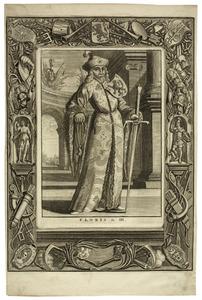 Portret van Floris III van Holland (1128-1190)