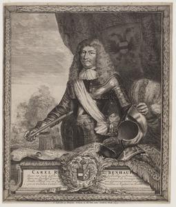 Portret van Karl Rabenhaupt von Sucha (1602-1675)
