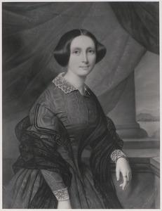 Portret van waarschijnlijk Constance Julie Eleonora van der Duyn (1821-1857)