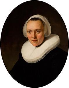 Portret van een 40-jarige vrouw, waarschijnlijk Marretje Cornelisdr. van Grotewal (....-1666)