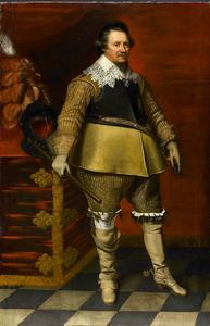 Portret van Ernst Casimir (1573-1632), graaf van Nassau, stadhouder van Friesland, Groningen en Drenthe