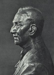Portret van Jan Wolter Niemeijer (1870-1937)