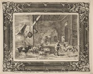 Jongen in een stal